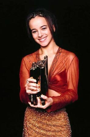 Alizee NRJ Music Awards 2001